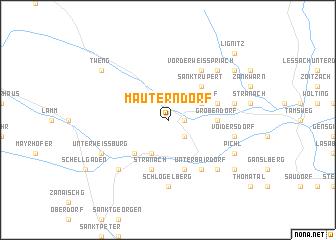 map of Mauterndorf