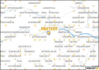 map of Mautern