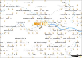 map of Mautern