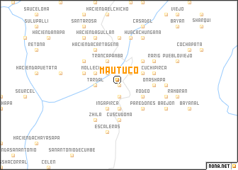 map of Mautuco