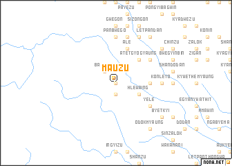 map of Ma-uzu