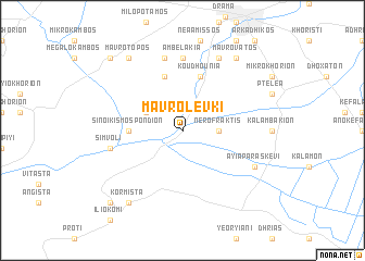 map of Mavrolévki