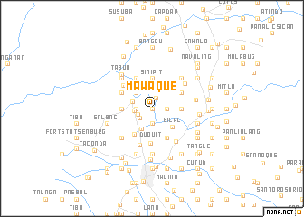 map of Mawaque