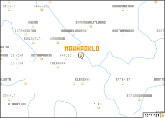 map of Mawhpoklo