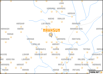 map of Mawhsum