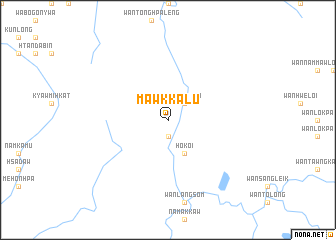 map of Mawkkalu