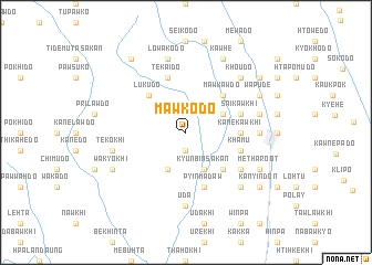 map of Mawkodo