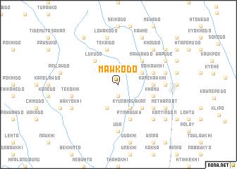 map of Mawkodo