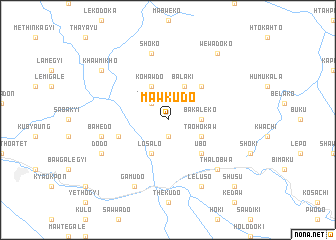 map of Mawkudo