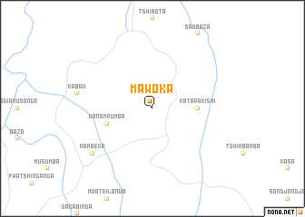 map of Mawoka