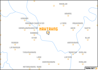 map of Mawtawng