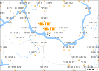 map of Mawton
