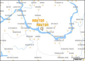 map of Mawton