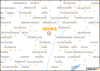 map of Maxiais