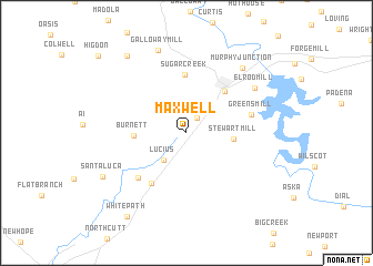 map of Maxwell