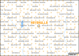 map of Mayamulla
