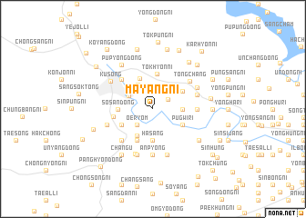 map of Mayang-ni