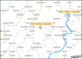 map of Mayangyaung
