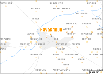 map of Maydanovo