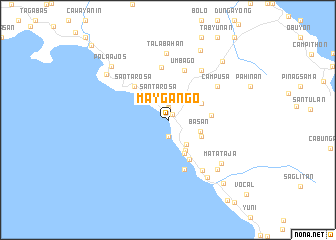 map of Maygango