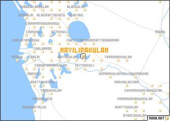map of Mayilirakulam