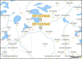 map of May Kérawa