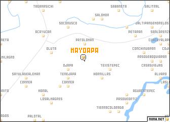 map of Mayoapa