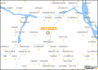 map of Mayogan