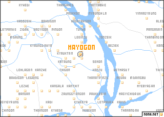 map of Mayogon