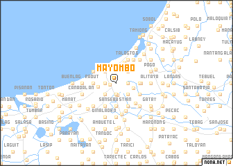 map of Mayombo
