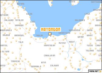 map of Mayondon