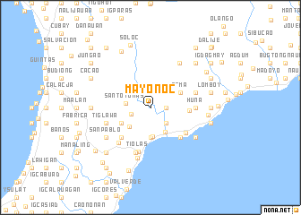 map of Mayonoc