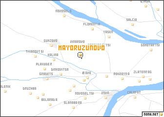 map of Mayor Uzunovo