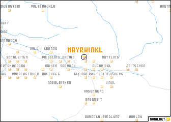map of Mayrwinkl