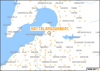 map of Maytalang Number 2