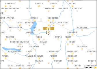 map of Maywe