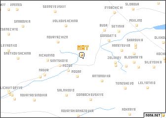 map of May