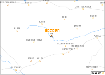 map of Mazarn