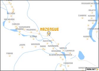 map of Mazengue