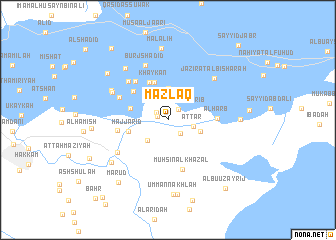 map of Mazlaq