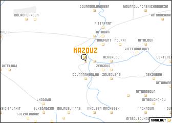 map of Mazouz