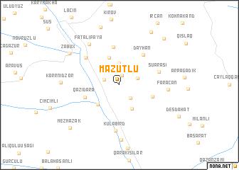 map of Mazutlu