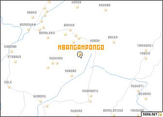 map of Mbanga Mpongo