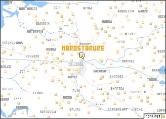 map of Mbrostar-Urë