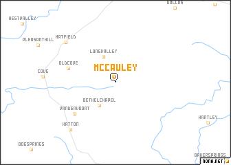 map of McCauley