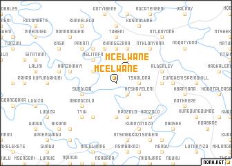 map of Mcelwane