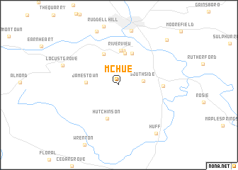 map of McHue