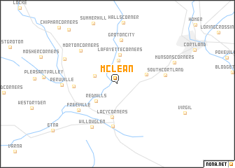 map of McLean