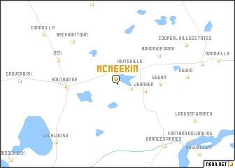 map of McMeekin