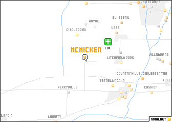 map of McMicken